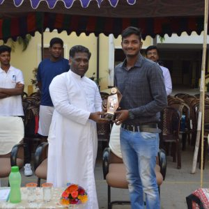Chief Guest Mr. P. Bala Danesh – Current Indian Player